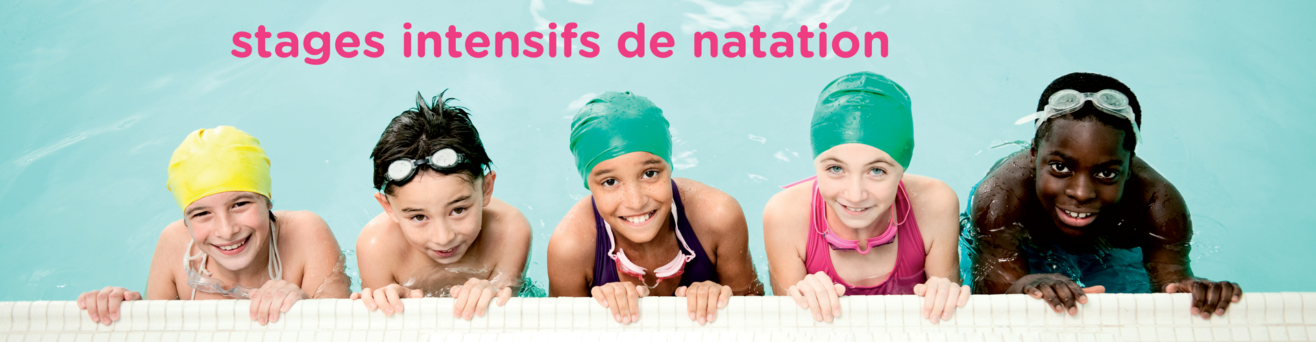stages intensifs natation